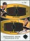 2010/11 Upper Deck Ultimate Collection Ultimate Jerseys Duos #UDJCR Zdeno Chara Tuukka Rask 21/50