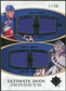 2010/11 Upper Deck Ultimate Collection Ultimate Jerseys Duos #UDJGL Marian Gaborik Henrik Lundqvist /50