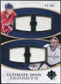 2010/11 Upper Deck Ultimate Collection Ultimate Jerseys Duos #UDJGV Mike Green Semyon Varlamov /50