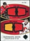 2010/11 Upper Deck Ultimate Collection Ultimate Jerseys Duos #UDJIK Jarome Iginla Miikka Kiprusoff /50