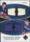 2010/11 Upper Deck Ultimate Collection Ultimate Jerseys Duos #UDJKM Jari Kurri Mark Messier /50
