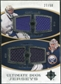 2010/11 Upper Deck Ultimate Collection Ultimate Jerseys Duos #UDJLM Roberto Luongo Ryan Miller /50