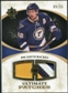 2010/11 Upper Deck Ultimate Collection Ultimate Patches #UJDB David Backes /35