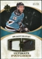 2010/11 Upper Deck Ultimate Collection Ultimate Patches #UJDH Dany Heatley /35