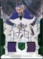 2011/12 Upper Deck Artifacts Jerseys Patch Emerald #45 Jonathan Bernier /65