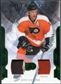 2011/12 Upper Deck Artifacts Jerseys Patch Emerald #68 Jeff Carter /65