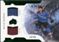 2011/12 Upper Deck Artifacts Horizontal Jerseys Patches Emerald #23 Milan Hejduk /35
