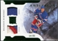 2011/12 Upper Deck Artifacts Horizontal Jerseys Patches Emerald #62 Brandon Dubinsky /35