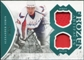 2011/12 Upper Deck Artifacts Frozen Artifacts Jerseys Patches Emerald #FAAS Alexander Semin /35