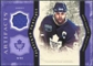 2011/12 Upper Deck Artifacts Treasured Swatches Purple #TSDG Doug Gilmour