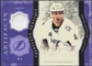 2011/12 Upper Deck Artifacts Treasured Swatches Purple #TSVL Vincent Lecavalier