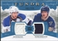 2011/12 Upper Deck Artifacts Tundra Tandems Jerseys Blue #TT2BB David Backes / Patrik Berglund /225