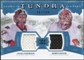2011/12 Upper Deck Artifacts Tundra Tandems Jerseys Blue #TT2CR Craig Anderson / Robin Lehner /225