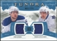 2011/12 Upper Deck Artifacts Tundra Tandems Jerseys Blue #TT2KK Phil Kessel / Nikolai Kulemin /225