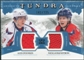 2011/12 Upper Deck Artifacts Tundra Tandems Jerseys Blue #TT2OB Alexander Ovechkin / Nicklas Backstrom /225