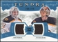 2011/12 Upper Deck Artifacts Tundra Tandems Jerseys Blue #TT2TR Tim Thomas / Tuukka Rask /225