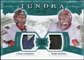 2011/12 Upper Deck Artifacts Tundra Tandems Patches Emerald #TT2CR Craig Anderson / Robin Lehner /50