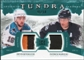 2011/12 Upper Deck Artifacts Tundra Tandems Patches Emerald #TT2MS Patrick Marleau / Devin Setoguchi /50