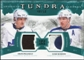 2011/12 Upper Deck Artifacts Tundra Tandems Patches Emerald #TT2PS Dion Phaneuf / Luke Schenn /50