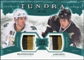 2011/12 Upper Deck Artifacts Tundra Tandems Patches Emerald #TT2RB Brad Richards / Jamie Benn /50