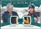 2011/12 Upper Deck Artifacts Tundra Tandems Patches Emerald #TT2RH Pekka Rinne / Patric Hornqvist /50