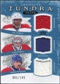 2011/12 Upper Deck Artifacts Tundra Trios Jerseys Blue #TT3LBBR P.K. Subban Carey Price Tomas Plekanec /149