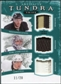 2011/12 UD Artifacts Tundra Trios Patches Emerald #TT3PENS Kristopher Letang  James Neal Marc-Andre Fleury /20