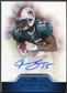 2011 Topps Precision Autographs #PCVADBE Davone Bess Autograph
