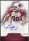 2011 Topps Precision Autographs Red #PCVATH Todd Heap Autograph /99