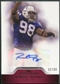 2011 Topps Precision Autographs Red #PCVARM Robert Mathis Autograph /99