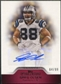 2011 Topps Precision Autographs Red #PCVAGO Greg Olsen Autograph /99