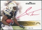 2011 Topps Precision Rookie Autographs Red Ink #127 Jordan Todman Autograph /75