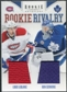 2011/12 Panini Rookie Anthology Rookie Rivalry Dual Jerseys #25 Louis Leblanc Ben Scrivens