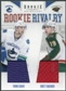 2011/12 Panini Rookie Anthology Rookie Rivalry Dual Jerseys #26 Yann Sauve Brett Bulmer