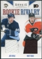2011/12 Panini Rookie Anthology Rookie Rivalry Dual Jerseys #43 Joe Vitale Matt Read
