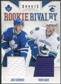 2011/12 Panini Rookie Anthology Rookie Rivalry Dual Jerseys #58 Jake Gardiner Yann Sauve