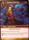 WoW March of the Legion Single Shadow Weaving (MoL-76) NM/MT