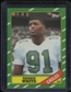 1986 Topps Football #275 Reggie White Rookie Card (NM or Better)
