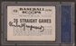 1961 Nu-Card Scoops Rube Marquard #456 Autographed Card PSA Slabbed (4963)