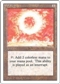 Magic the Gathering 3rd Ed (Revised) Single Sol Ring - MODERATE PLAY (MP)