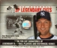 2008 Upper Deck SP Legendary Cuts Baseball Hobby Box