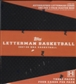 2007/08 Topps Letterman Basketball Hobby Box