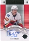 2007/08 Upper Deck Ultimate Collection Signatures #USAT Alex Tanguay Autograph