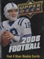 2008 Upper Deck Football Hobby Pack