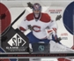 2008/09 Upper Deck SP Game Used Hockey Hobby Box