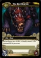 WoW Drums of War Single The Red Bearon (DoW-LOOT3) Unscratched Loot Card
