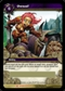 WoW Drums of War Single Owned! (DoW-LOOT2) Unscratched Loot Card