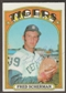 1972 Topps Baseball #6 Fred Scherman Signed in Person Auto
