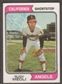 1974 Topps Baseball #188 Rudy Meoli Signed in Person Auto