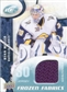2009/10 Upper Deck Ice Frozen Fabrics Blue #FRRM Ryan Miller